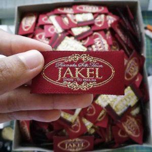 Label Tenun (Woven Damask)